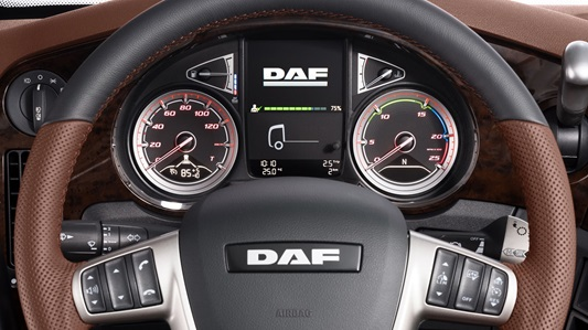 DAF The New CF and XF interior features