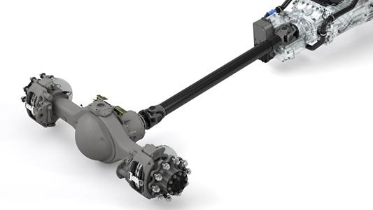 DAF rear axle