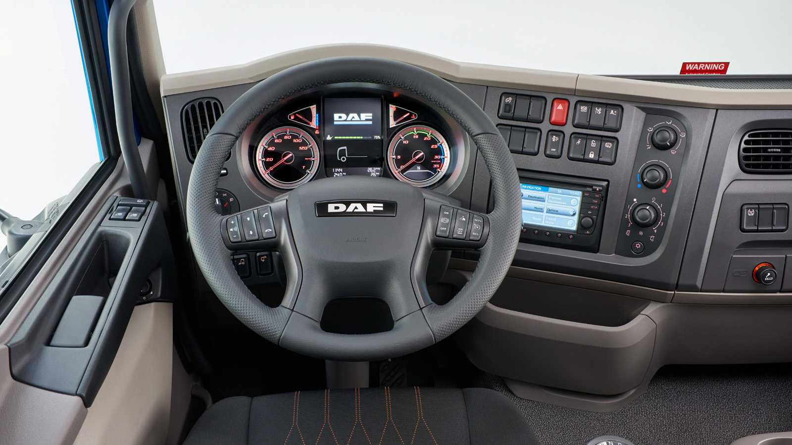 DAF The New LF interior features